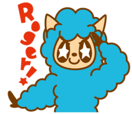 Wooly and Samantha sticker #152352