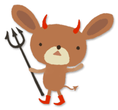 Cute Animal Characters sticker #152887
