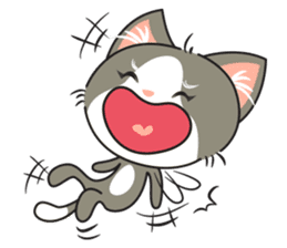 Bell the kitty cat sticker #154281