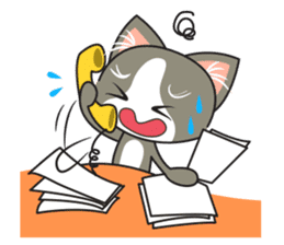 Bell the kitty cat sticker #154294