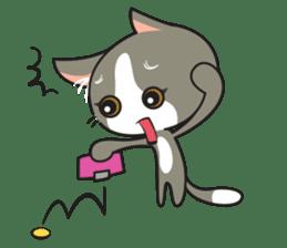 Bell the kitty cat sticker #154303
