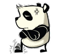 Pabhy the panda sticker #154396