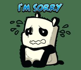 Pabhy the panda sticker #154405