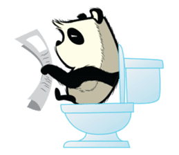 Pabhy the panda sticker #154424