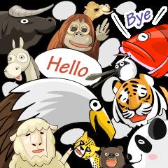 World Greetings (Hello & Bye)