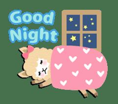Alpaca girls sticker #155348