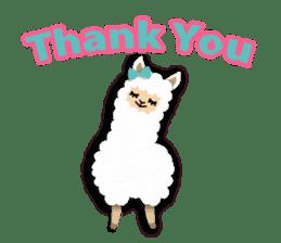 Alpaca girls sticker #155350