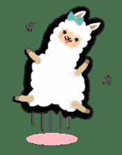 Alpaca girls sticker #155351