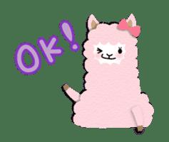 Alpaca girls sticker #155352