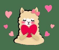 Alpaca girls sticker #155353