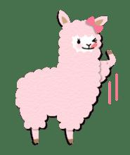 Alpaca girls sticker #155354