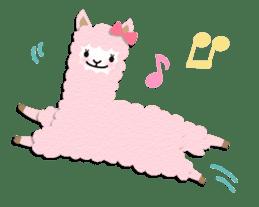 Alpaca girls sticker #155356