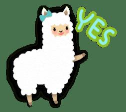 Alpaca girls sticker #155357