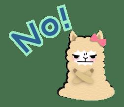 Alpaca girls sticker #155358