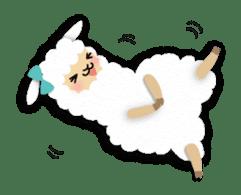 Alpaca girls sticker #155361