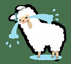 Alpaca girls sticker #155362