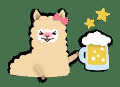 Alpaca girls sticker #155363
