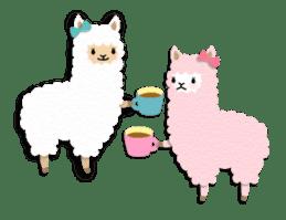 Alpaca girls sticker #155364