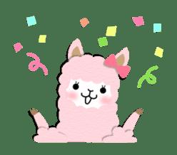 Alpaca girls sticker #155366