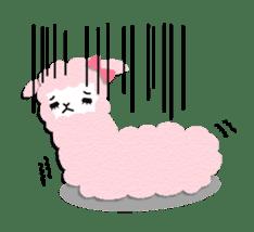 Alpaca girls sticker #155367