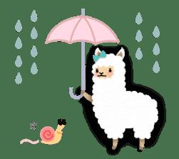 Alpaca girls sticker #155368