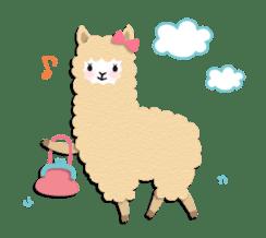 Alpaca girls sticker #155371