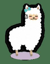 Alpaca girls sticker #155373