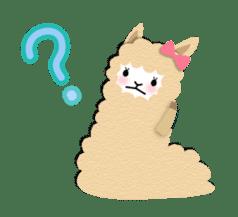 Alpaca girls sticker #155374