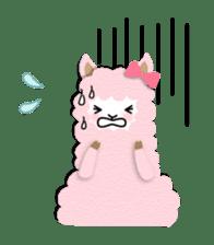 Alpaca girls sticker #155375