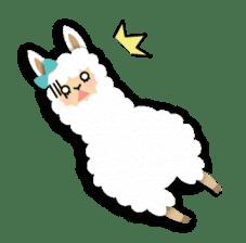 Alpaca girls sticker #155376