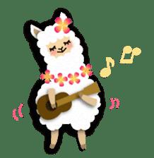 Alpaca girls sticker #155382