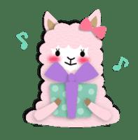 Alpaca girls sticker #155383