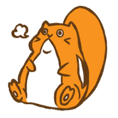 Chipmunk friends sticker #155520