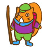 Chipmunk friends sticker #155526
