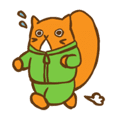 Chipmunk friends sticker #155529