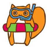 Chipmunk friends sticker #155533
