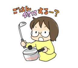 oyakogurashi sticker #155937