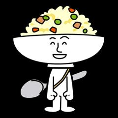 Fried rice cha-san