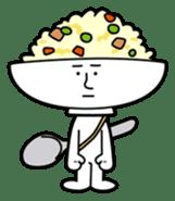Fried rice cha-san sticker #155947