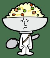 Fried rice cha-san sticker #155948