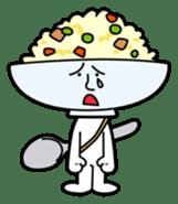Fried rice cha-san sticker #155950