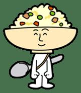Fried rice cha-san sticker #155951