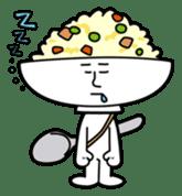 Fried rice cha-san sticker #155952