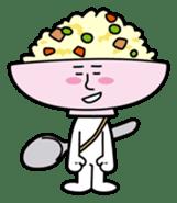 Fried rice cha-san sticker #155954