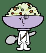 Fried rice cha-san sticker #155956