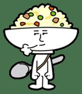 Fried rice cha-san sticker #155957