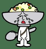 Fried rice cha-san sticker #155960