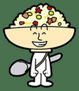 Fried rice cha-san sticker #155961