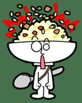 Fried rice cha-san sticker #155963