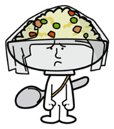 Fried rice cha-san sticker #155968